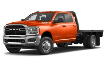 2019 RAM 3500 Chassis - Utility Orange
