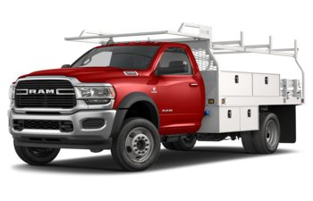 2020 RAM 4500 Chassis - Bright Red