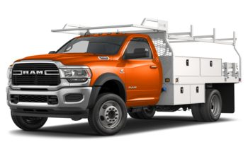 2020 RAM 4500 Chassis - Omaha Orange