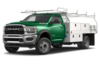 2020 RAM 4500 Chassis - Bright Green