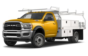 2020 RAM 4500 Chassis - Construction Yellow