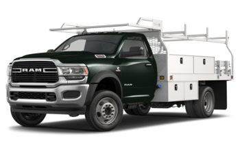 2019 RAM 4500 Chassis - Black Forest Green Pearl