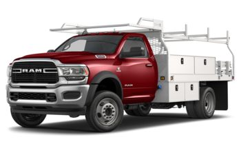 2020 RAM 4500 Chassis - Flame Red