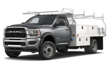 2020 RAM 4500 Chassis - Billet Silver Metallic