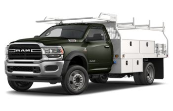 2020 RAM 4500 Chassis - Olive Green Pearl