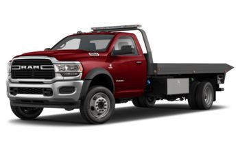 2021 RAM 5500 Chassis - Flame Red