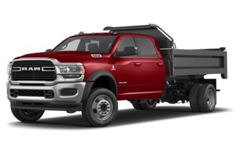 2019 RAM 5500 Chassis - Case IH Red