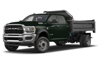 2019 RAM 5500 Chassis - Black Forest Green Pearl