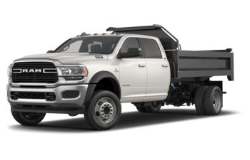 2019 RAM 5500 Chassis - Pearl White