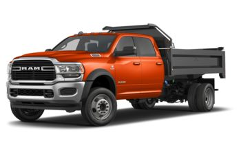 2021 RAM 5500 Chassis - Utility Orange