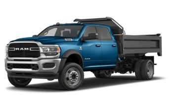 2020 RAM 5500 Chassis - Hydro Blue Pearl
