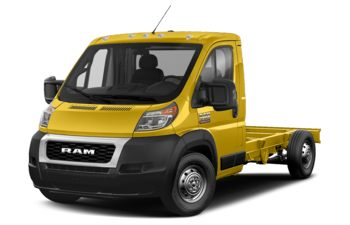 2019 RAM ProMaster 3500 Cab Chassis - Broom Yellow