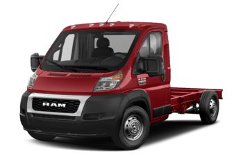 2020 RAM ProMaster 3500 Cab Chassis - Flame Red