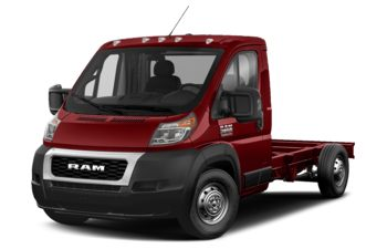 2020 RAM ProMaster 3500 Cab Chassis - Deep Cherry Red Crystal Pearl