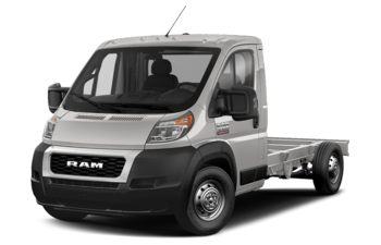 2020 RAM ProMaster 3500 Cab Chassis - Bright Silver Metallic