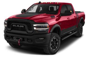 2019 RAM 3500 - Case IH Red