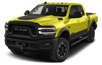 2019 RAM 3500 - National Safety Yellow