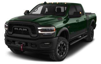 2019 RAM 3500 - Timberline Green Pearl