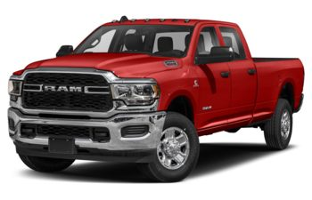 2021 RAM 2500 - Bright Red