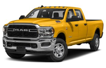 2019 RAM 2500 - Construction Yellow
