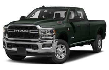 2019 RAM 2500 - Black Forest Green Pearl