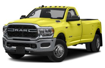 2020 RAM 3500 - National Safety Yellow