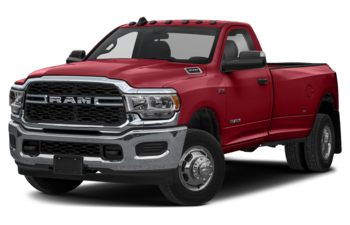 2019 RAM 3500 - Flame Red