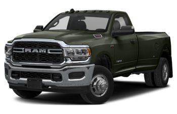 2021 RAM 3500 - Olive Green Pearl