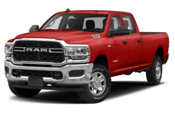 2019 RAM 3500 - Bright Red