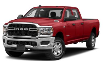 2019 RAM 3500 - Case IH Red
