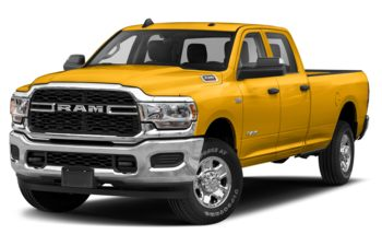 2020 RAM 3500 - Construction Yellow
