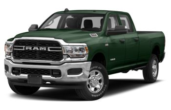 2019 RAM 3500 - Timberline Green Pearl