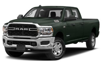 2019 RAM 3500 - Black Forest Green Pearl