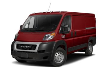 2019 RAM ProMaster 1500 - Deep Cherry Red Crystal Pearl