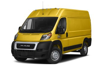 2021 RAM ProMaster 2500 - Broom Yellow