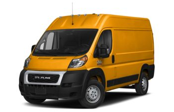2019 RAM ProMaster 2500 - School Bus Yellow