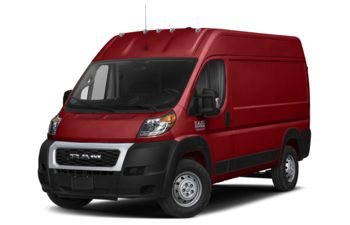 2020 RAM ProMaster 2500 - Flame Red