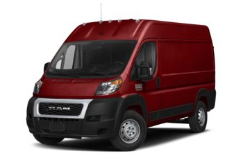 2021 RAM ProMaster 2500 - Deep Cherry Red Crystal Pearl