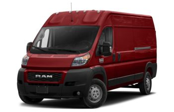 2019 RAM ProMaster 3500 - Deep Cherry Red Crystal Pearl