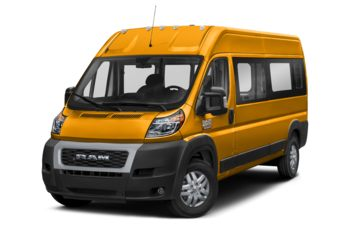 2019 RAM ProMaster 2500 Window Van - School Bus Yellow