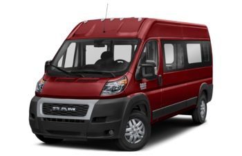 2019 RAM ProMaster 2500 Window Van - Deep Cherry Red Crystal Pearl