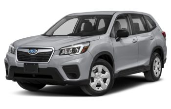 2019 Subaru Forester - Ice Silver Metallic