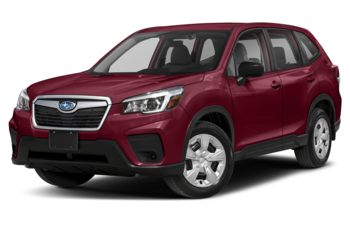 2019 Subaru Forester - Crimson Red Pearl