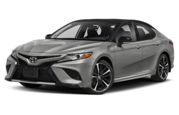 2020 Toyota Camry - Celestial Silver Metallic w/Black Roof