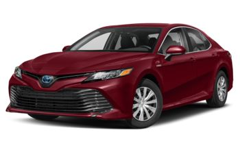 2020 Toyota Camry Hybrid - Ruby Flare Pearl