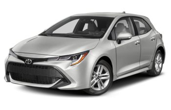2020 Toyota Corolla Hatchback - Classic Silver Metallic with Black Roof