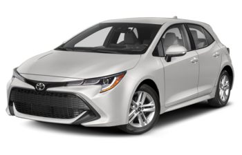 2019 Toyota Corolla Hatchback - Super White