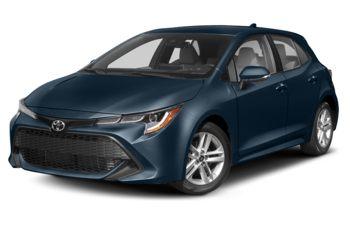 2019 Toyota Corolla Hatchback - Galactic Aqua Mica