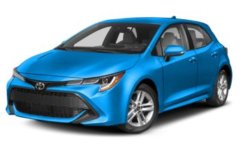 2020 Toyota Corolla Hatchback - Blue Flame with Black Roof