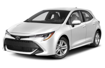 2021 Toyota Corolla Hatchback - Wind Chill Pearl w/Black Roof